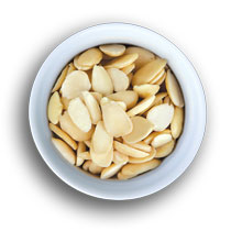 Blanched Split Almonds