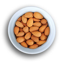 Dry Roasted Whole Almonds
