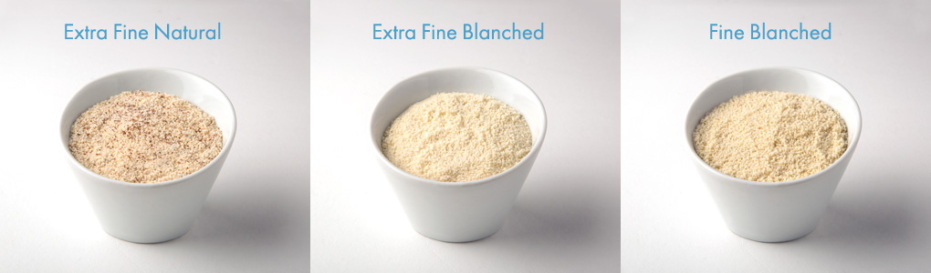 Almond flour varieties