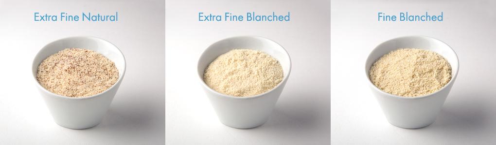 Almond flour varieties