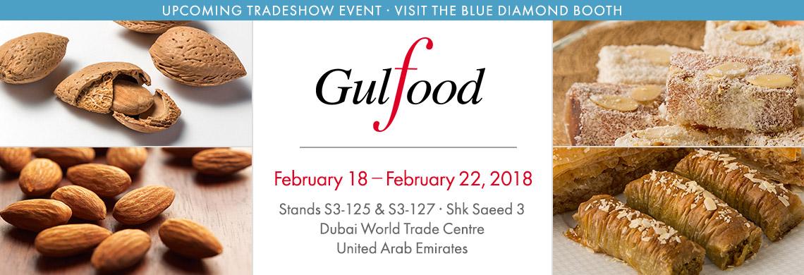 Gulfood 2018 tradeshow