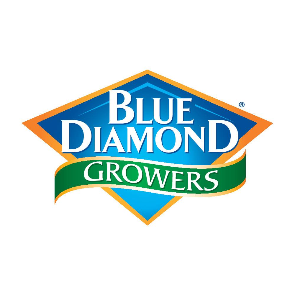 Blue Diamond Growers 4-color Logo