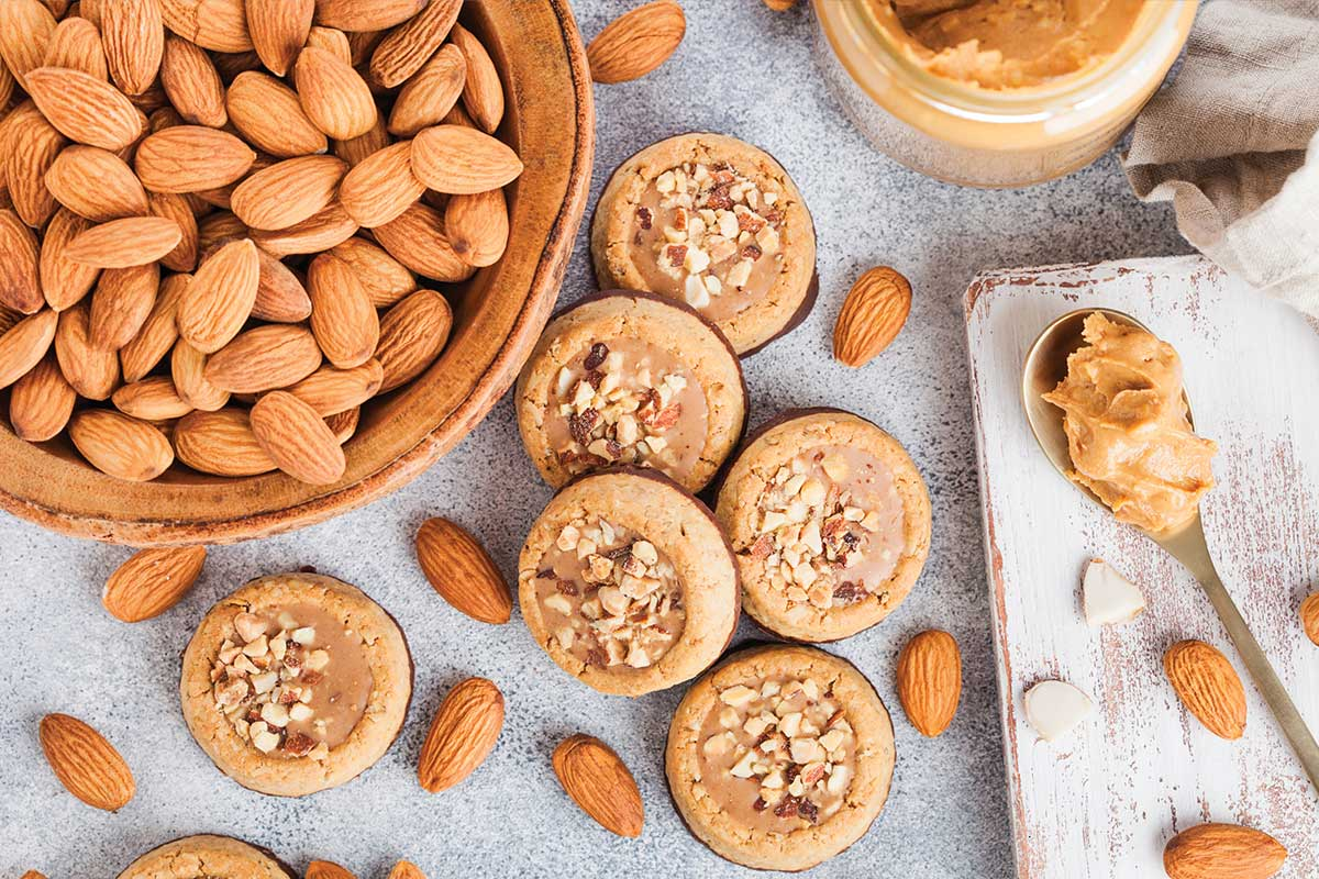 Almond butter snacks